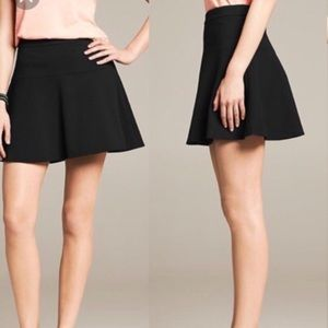 Banana Republic • Textured skater scuba skirt